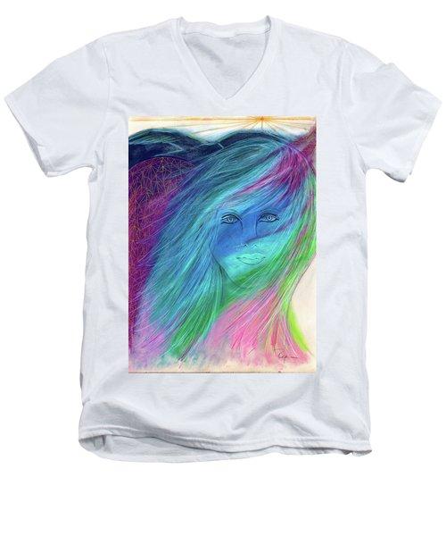 Cyndi 5th Dimension Men's V-Neck T-Shirt