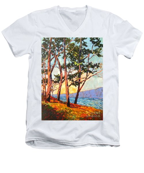 Cypress Light Men's V-Neck T-Shirt
