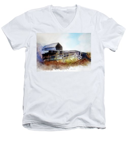 Dad's Farm House Men's V-Neck T-Shirt
