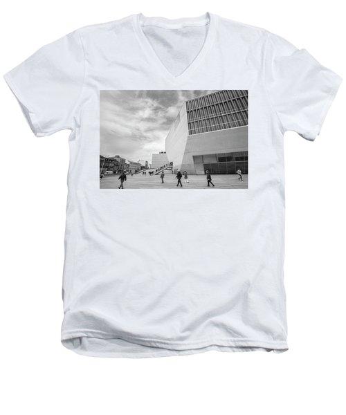Daily Life Men's V-Neck T-Shirt