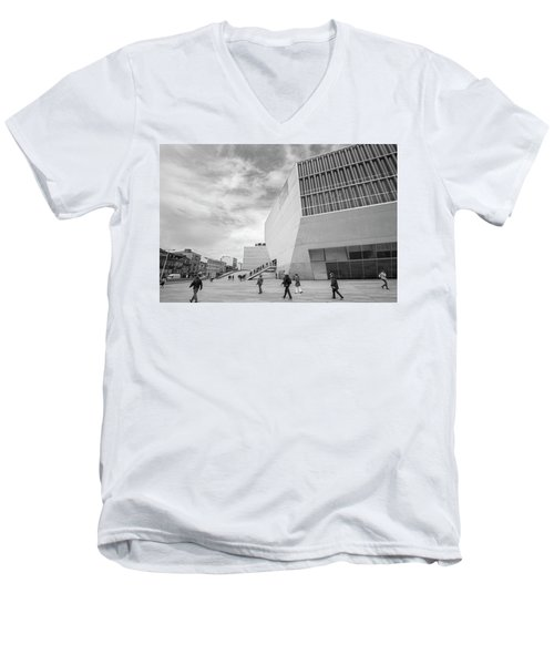 Daily Life Men's V-Neck T-Shirt