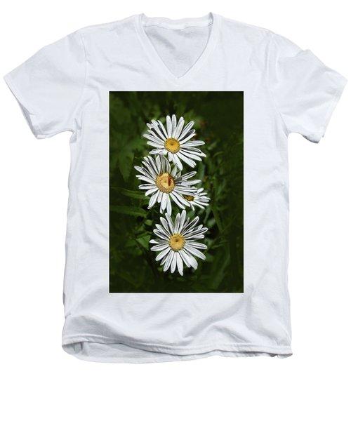 Daisy Chain Men's V-Neck T-Shirt