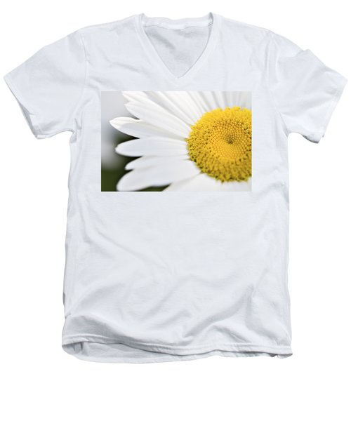 Daisy Men's V-Neck T-Shirt by Marlo Horne