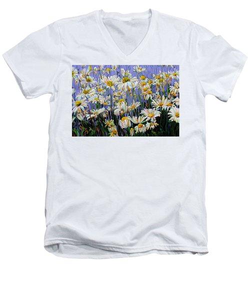 Daisy Spirit Sundance Men's V-Neck T-Shirt