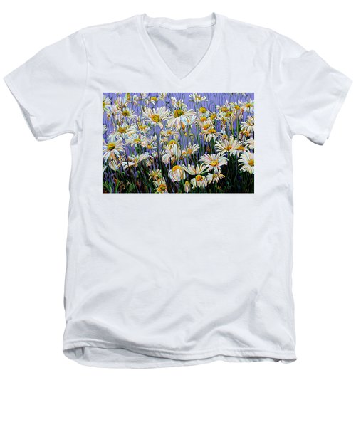 Daisy Spirit Sundance Men's V-Neck T-Shirt