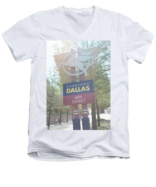 Dallas Arts District Men's V-Neck T-Shirt