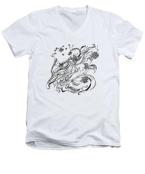 Damia Men's V-Neck T-Shirt