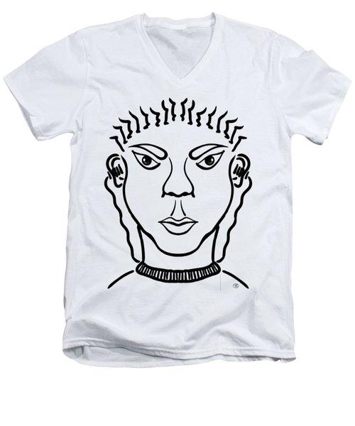Damiao Men's V-Neck T-Shirt