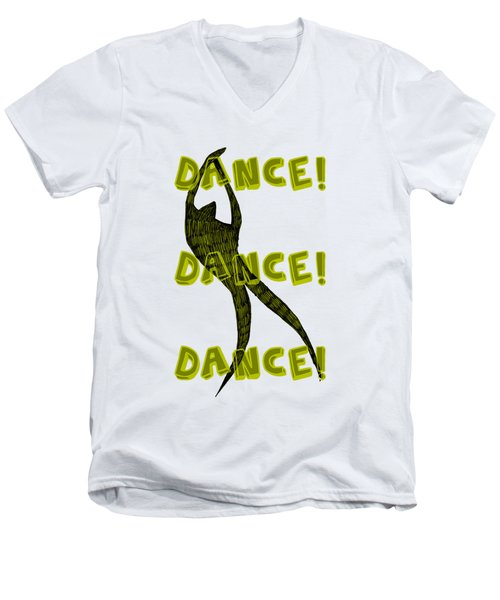 Dance Dance Dance Men's V-Neck T-Shirt