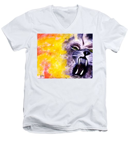 Wolf In Sheep's Clothing Men's V-Neck T-Shirt