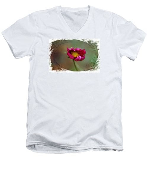 Dancing With Wind Men's V-Neck T-Shirt by Yumi Johnson