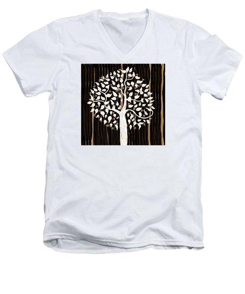 Dark Winter Men's V-Neck T-Shirt