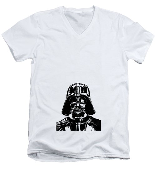 Darth Vader Painting Men's V-Neck T-Shirt