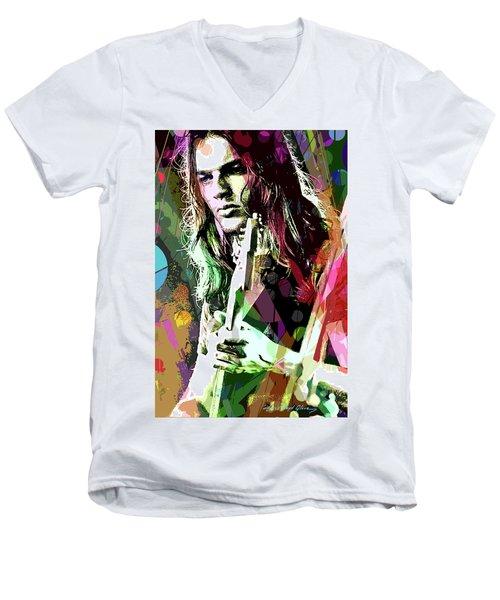 Dave Gilmour Dark Side Men's V-Neck T-Shirt