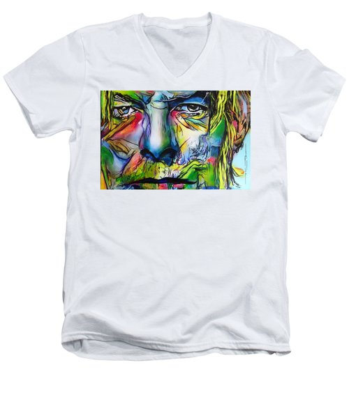 David Bowie Men's V-Neck T-Shirt