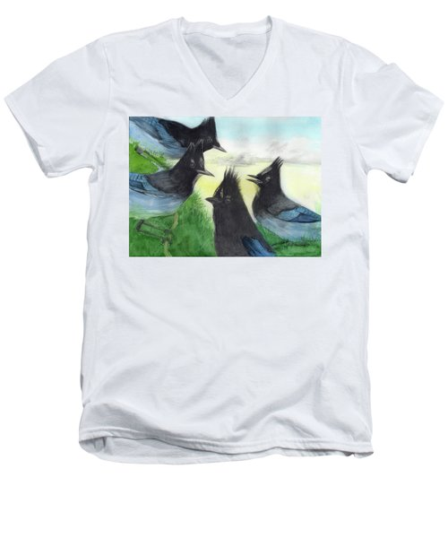 Dawn Chorus Men's V-Neck T-Shirt