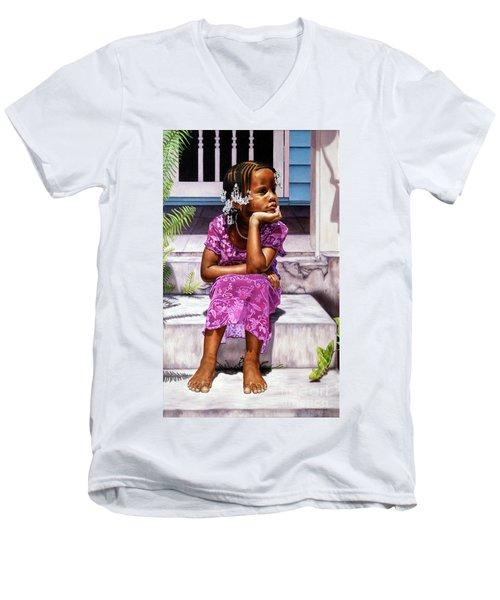 Day Dreamer Men's V-Neck T-Shirt