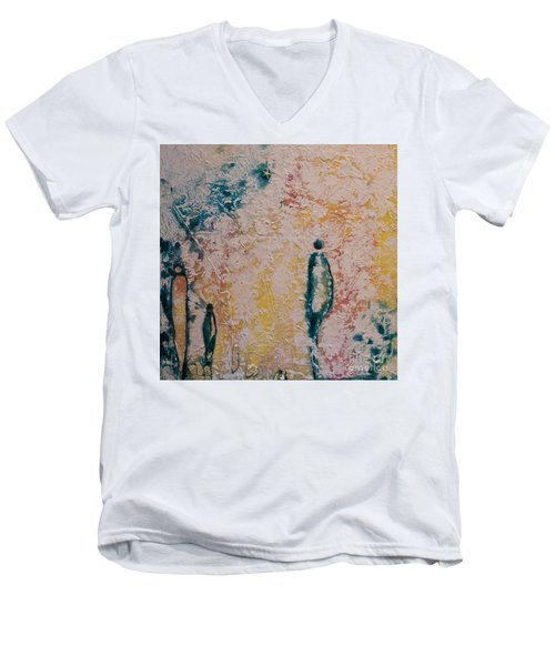 Day Out Men's V-Neck T-Shirt by Gallery Messina