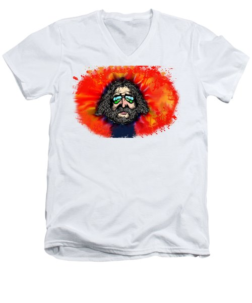 Dead Head Men's V-Neck T-Shirt