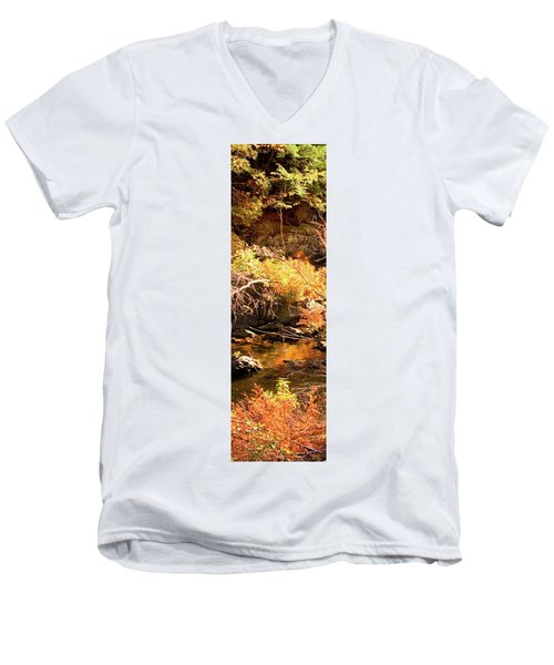 2 Of 6 Dead River Falls  Marquette Michigan Section Men's V-Neck T-Shirt