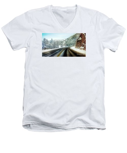 December Drive 4 Men's V-Neck T-Shirt