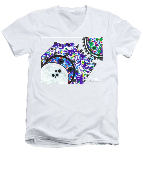 Deco Cogs Men's V-Neck T-Shirt
