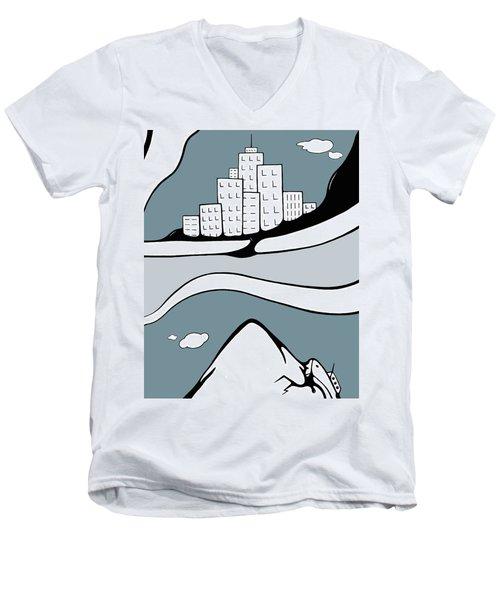 Decoy Men's V-Neck T-Shirt