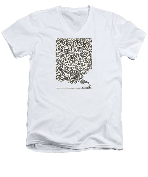 Deep Thoughts Men's V-Neck T-Shirt