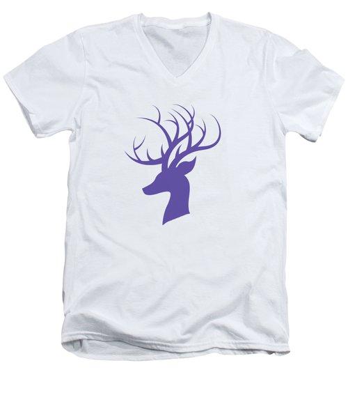 Deer Head Men's V-Neck T-Shirt