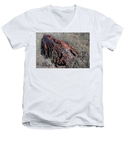 Men's V-Neck T-Shirt featuring the photograph Defying Eternity by Gary Kaylor