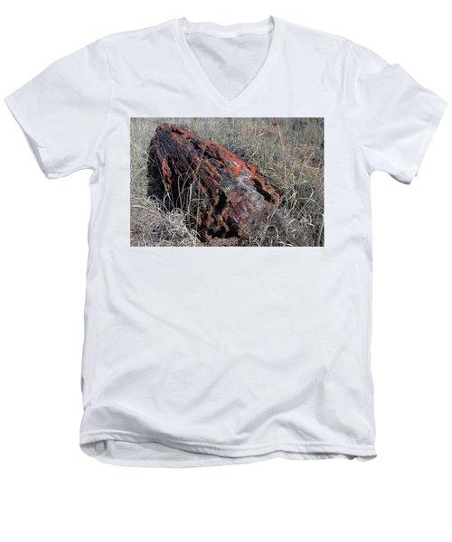 Defying Eternity Men's V-Neck T-Shirt by Gary Kaylor