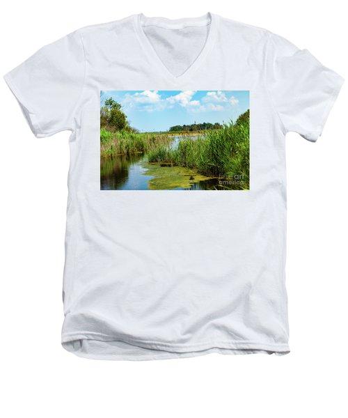 Delaware Marsh Men's V-Neck T-Shirt