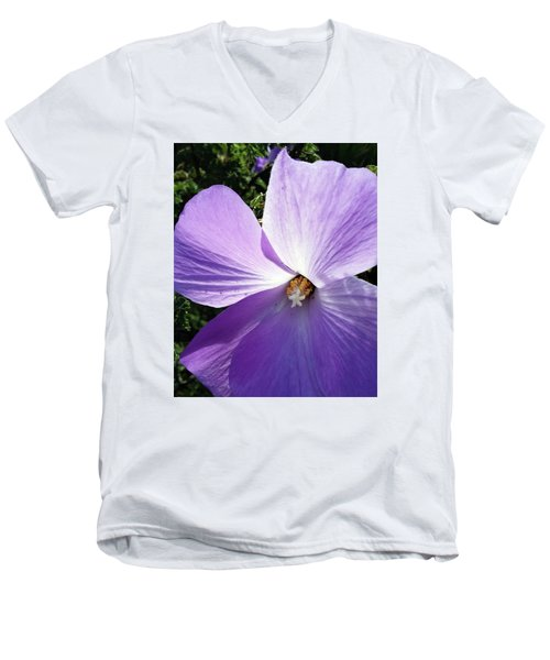 Delicate Flower Men's V-Neck T-Shirt