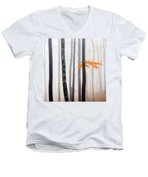 Delicate Forest Men's V-Neck T-Shirt