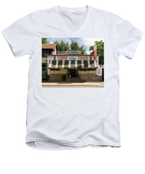 Delmonico's Italian Market Men's V-Neck T-Shirt