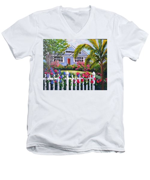 Delray Beach Men's V-Neck T-Shirt
