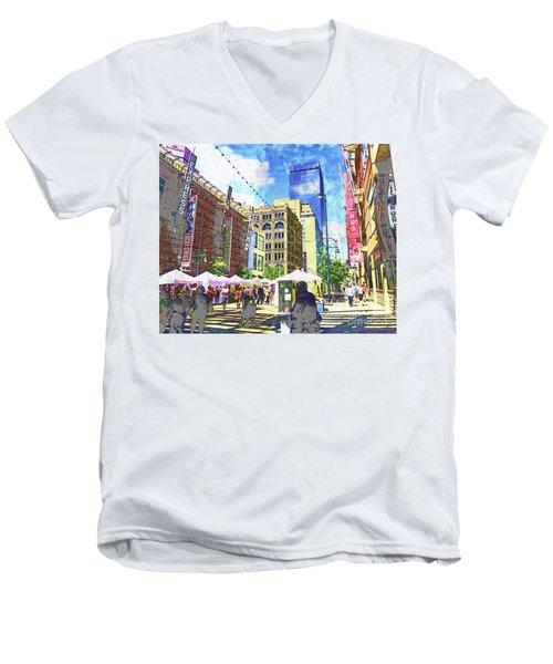 Denver Art Walk Men's V-Neck T-Shirt
