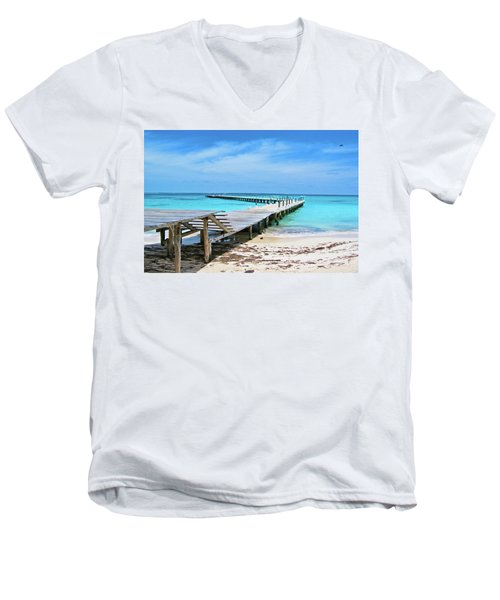 Departure Point Men's V-Neck T-Shirt