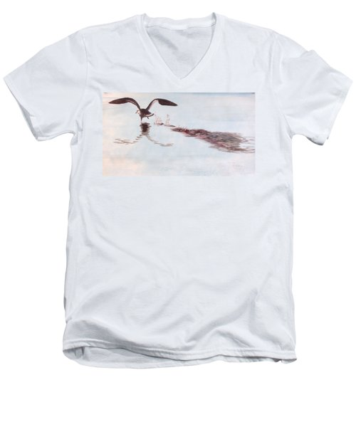 Departure Men's V-Neck T-Shirt