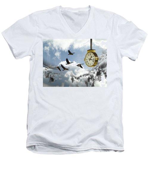 Departures Men's V-Neck T-Shirt