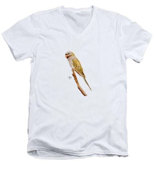 Derbyan Parakeet Men's V-Neck T-Shirt