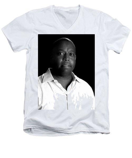 Derreck Fields  Men's V-Neck T-Shirt