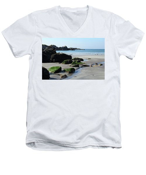 Derrynane Beach Men's V-Neck T-Shirt
