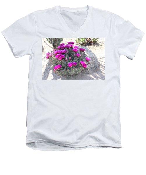 Desert Cactus Men's V-Neck T-Shirt
