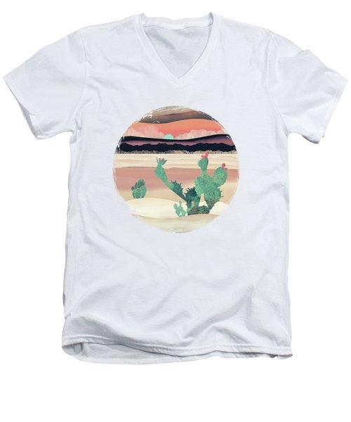 Desert Dawn Men's V-Neck T-Shirt