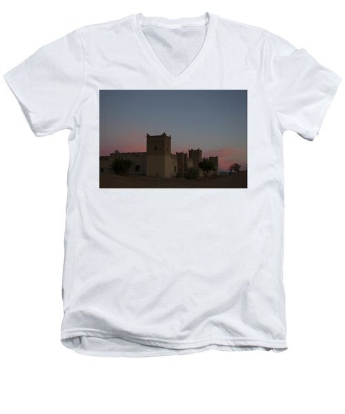 Desert Kasbah Morocco 2 Men's V-Neck T-Shirt