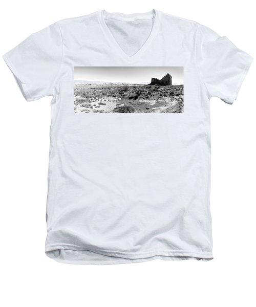 Desert Landscape - Arches National Park Moab, Utah Men's V-Neck T-Shirt