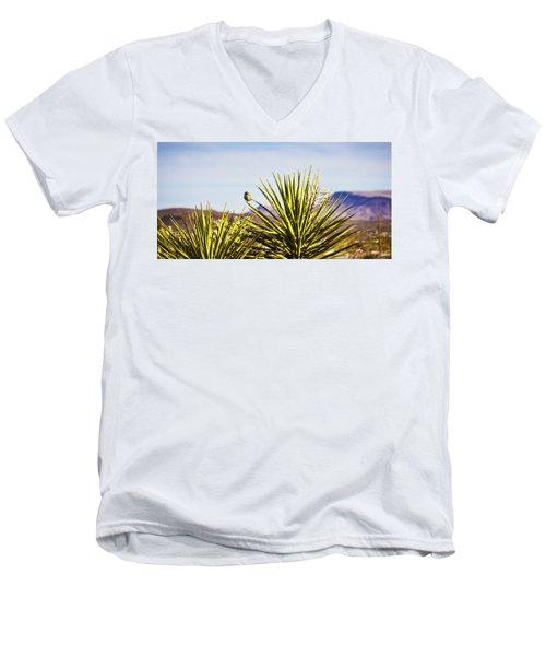 Desert Life Men's V-Neck T-Shirt