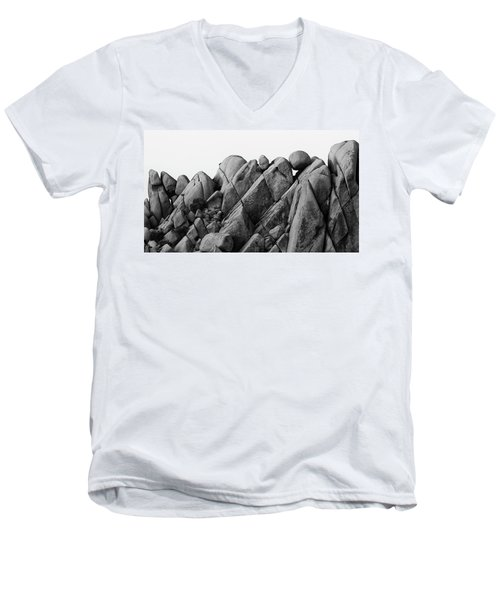 Desert Math Men's V-Neck T-Shirt