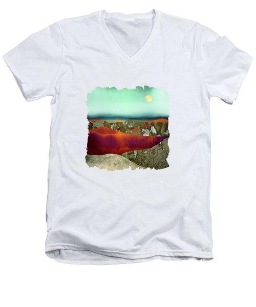 Desert Moon Men's V-Neck T-Shirt